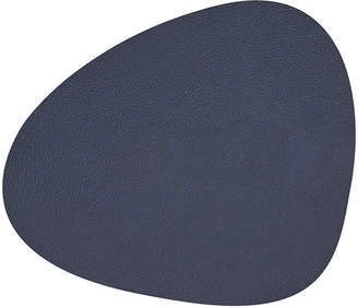 Lind Dna LIND DNA - Hippo Curve Table Mat - Navy Blue - Small