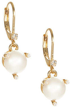 Kate Spade Rise and Shine Faux Pearl Drop Earrings