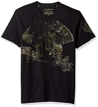Buffalo David Bitton Men's Tamet Short Sleeve Crew Neck Fashion Graphic T-Shirt