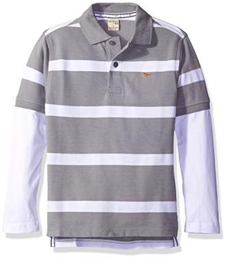 Scout + Ro Little Boys' Polo Two-Fer Shirt