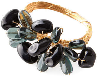 Deborah Rhodes Mixed Rock Cluster Napkin Ring