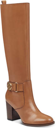 Tommy Hilfiger Women's Deeanne Block-Heel Boots Women's Shoes