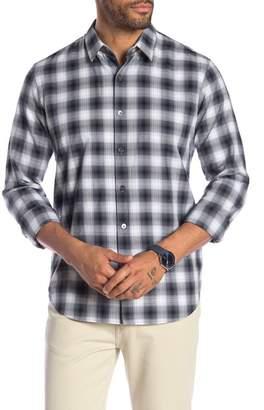 Theory Rammy Ombre Buffalo Shirt