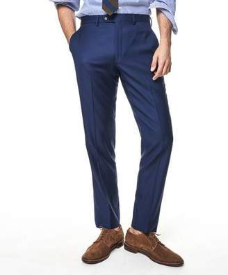 Todd Snyder Black Label Made In The USA Sutton Wool Twill Suit Trouser In Blue