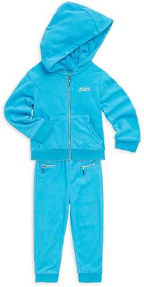 Juicy Couture Little Girl's Tracksuit Set