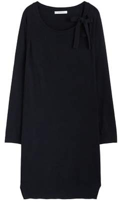 Violeta BY MANGO Bow knitted dress