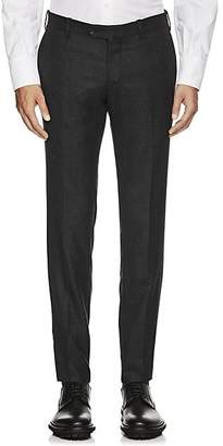 Marco Pescarolo Men's Cashmere Twill Trousers - Charcoal
