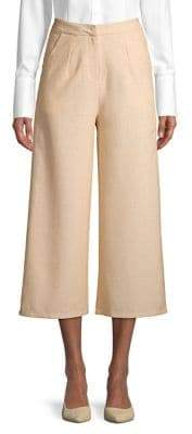 The Fifth Label Clarity Viva High-Rise Wide-Leg Cropped Pants