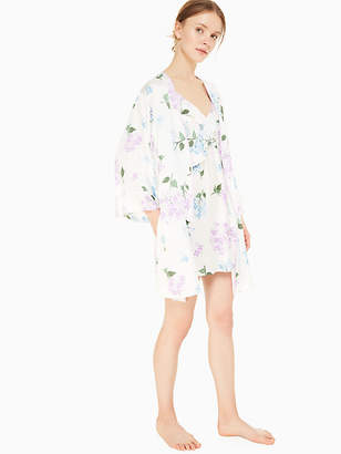 Kate Spade Charmeuse short robe