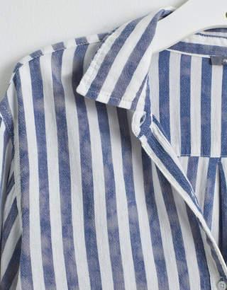 Aerie Striped Button Down Shirt