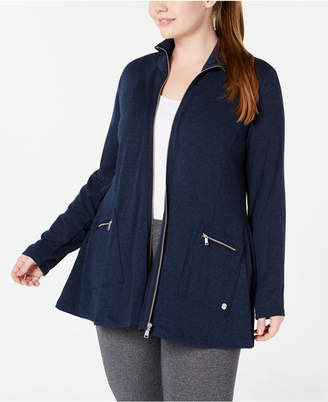 Calvin Klein Plus Size Zip Jacket