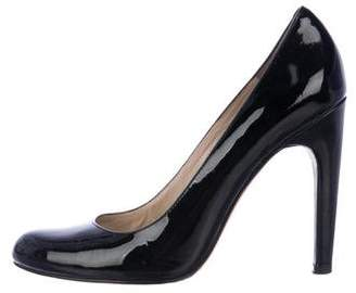 KORS Patent Leather Round-Toe Pumps