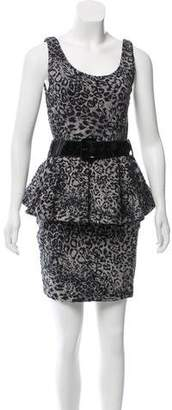 Betsey Johnson Peplum Mini Dress