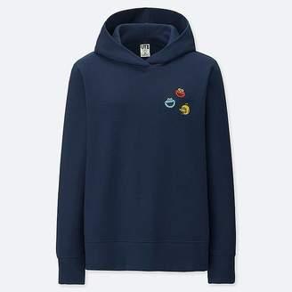 Uniqlo Women's Kaws X Sesame Street Hooded Sweatshirt