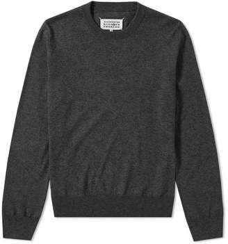 Maison Margiela 14 Classic Elbow Patch Crew Knit