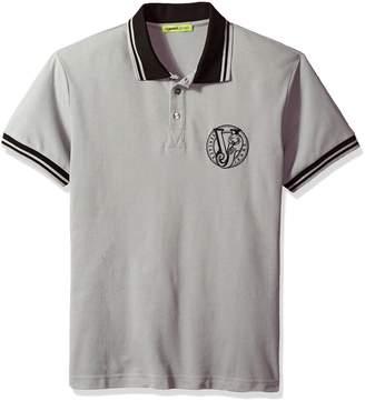 Versace Men's Basic Logo Polo