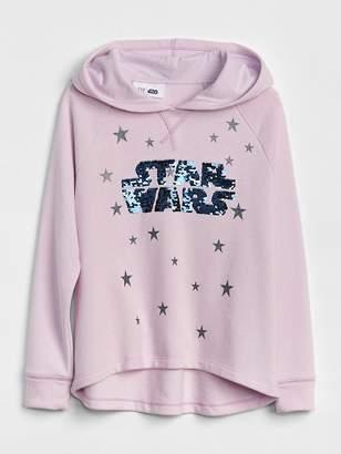 Gap GapKids | Star Wars Flippy Sequin Hoodie Sweatshirt