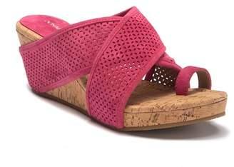 20ed0d073a0 Donald J Pliner Cork Platform Women s Sandals - ShopStyle