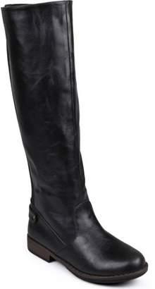 244c1c0902b5 Brinley Co. Women s Wide Calf Stretch Knee-High Riding Boot