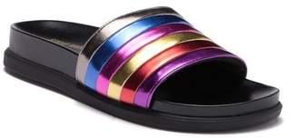 Steve Madden Cambi Metallic Slide Sandal (Little Kid & Big Kid)