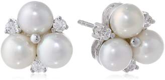 Bella Pearl Cluster Earrings