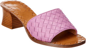 Bottega Veneta Ravello Intrecciato Leather Sandal