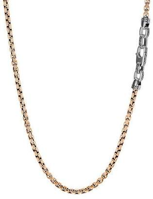 John Hardy Men's Classic Chain Necklace, 4mm, Bronze