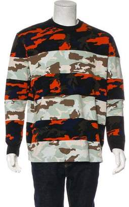 Givenchy Camouflage Striped T-Shirt