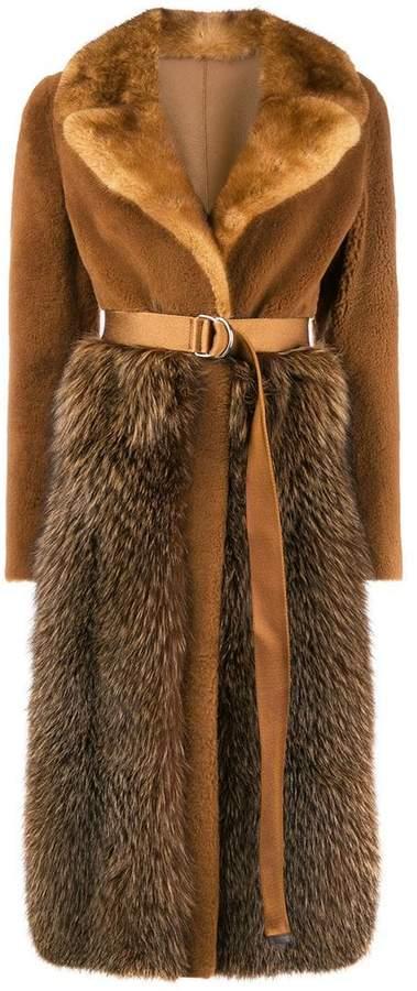 Blancha belted waist coat
