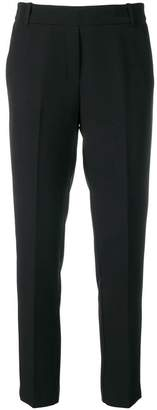 Kiltie tailored cropped trousers