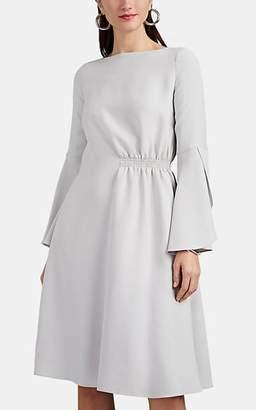 Giorgio Armani Women's Gathered Silk Crepe Dress - Cream