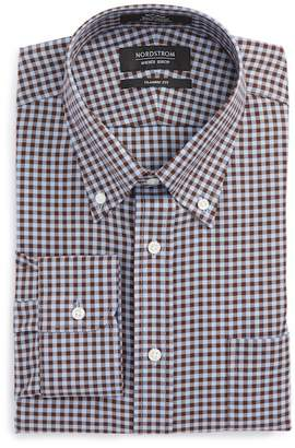 Nordstrom Classic Fit Non-Iron Gingham Dress Shirt