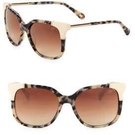 Diane von Furstenberg Roxanne 51MM Square Sunglasses