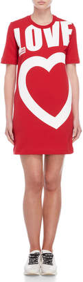 Love Moschino Graphic T-Shirt Dress