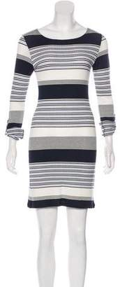 Melissa Odabash Striped Mini Dress