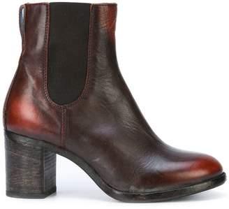 Moma mid heel chelsea boots