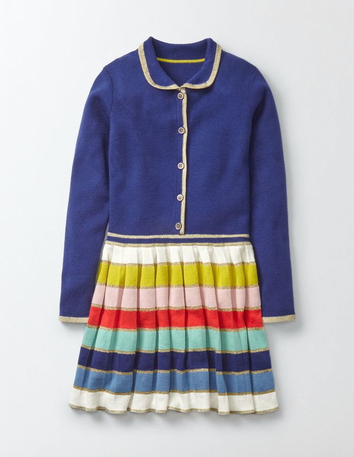 BodenRainbow Knitted Dress