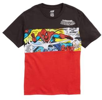 Mighty Fine x Marvel Spider-Man Attack T-Shirt