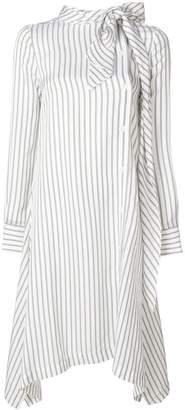 See by Chloe flared stripe shirt dress