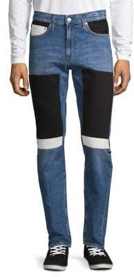 Calvin Klein Jeans 026 Slim Colourblock Patch Jeans