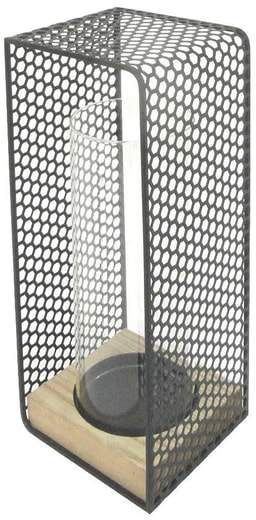 CRYSTAL ART GALLERY Hurricane Candle Holder