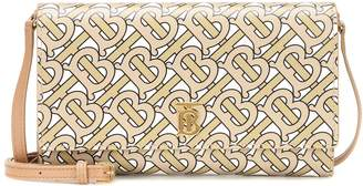 Burberry Hazelmere printed leather crossbody bag