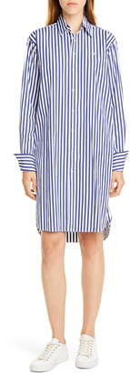 Polo Ralph Lauren Stripe Long Sleeve Shirtdress