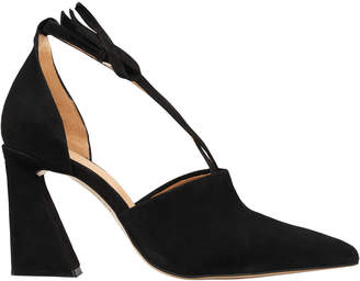 Ganni Lina Suede Black Pumps