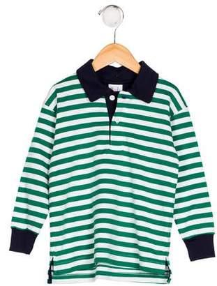 Florence Eiseman Boys' Striped Polo Shirt