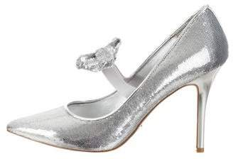 2ec28a58d384 MICHAEL Michael Kors Sequin Pointed-Toe Pumps