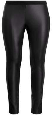 Ralph Lauren Paneled Ponte Legging Polo Black 16