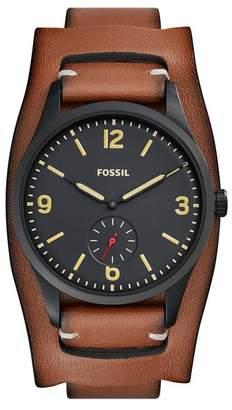 Fossil Men's Vintage 54 Two-Hand Quartz Watch $155 thestylecure.com