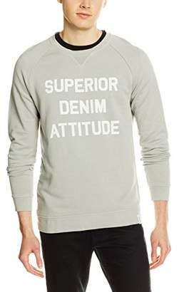 Marc O'Polo Denim Men's 761413354308 Sweatshirt, (Muddy Grey 924), Small