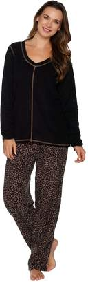 Stan Herman Tall Micro Fleece Novelty Pajama Set